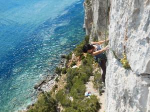 Falesia di masua arrampicata sardegna